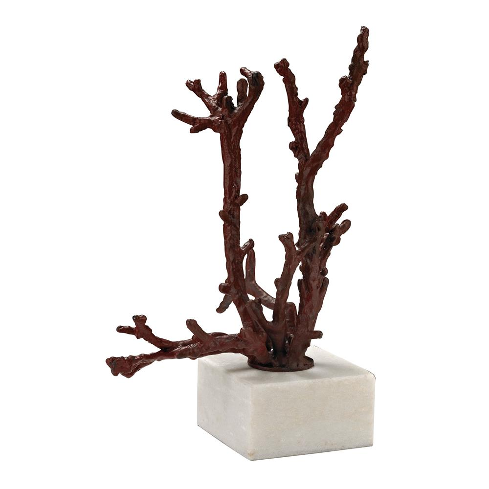 Dimond Home by Elk 148027 Staghorn Coral Sculpture in Red