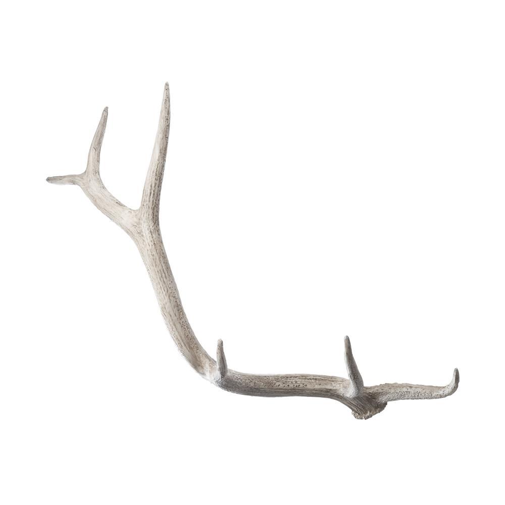 Dimond Home by Elk 225025 Weathered Resin Elk Antler  in Cream