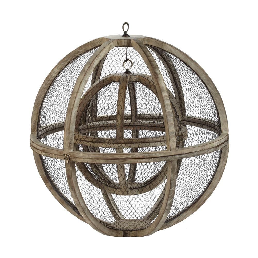 Dimond Home by Elk 594017 Wire Atlas Spheres-Set Of 2 in Natural