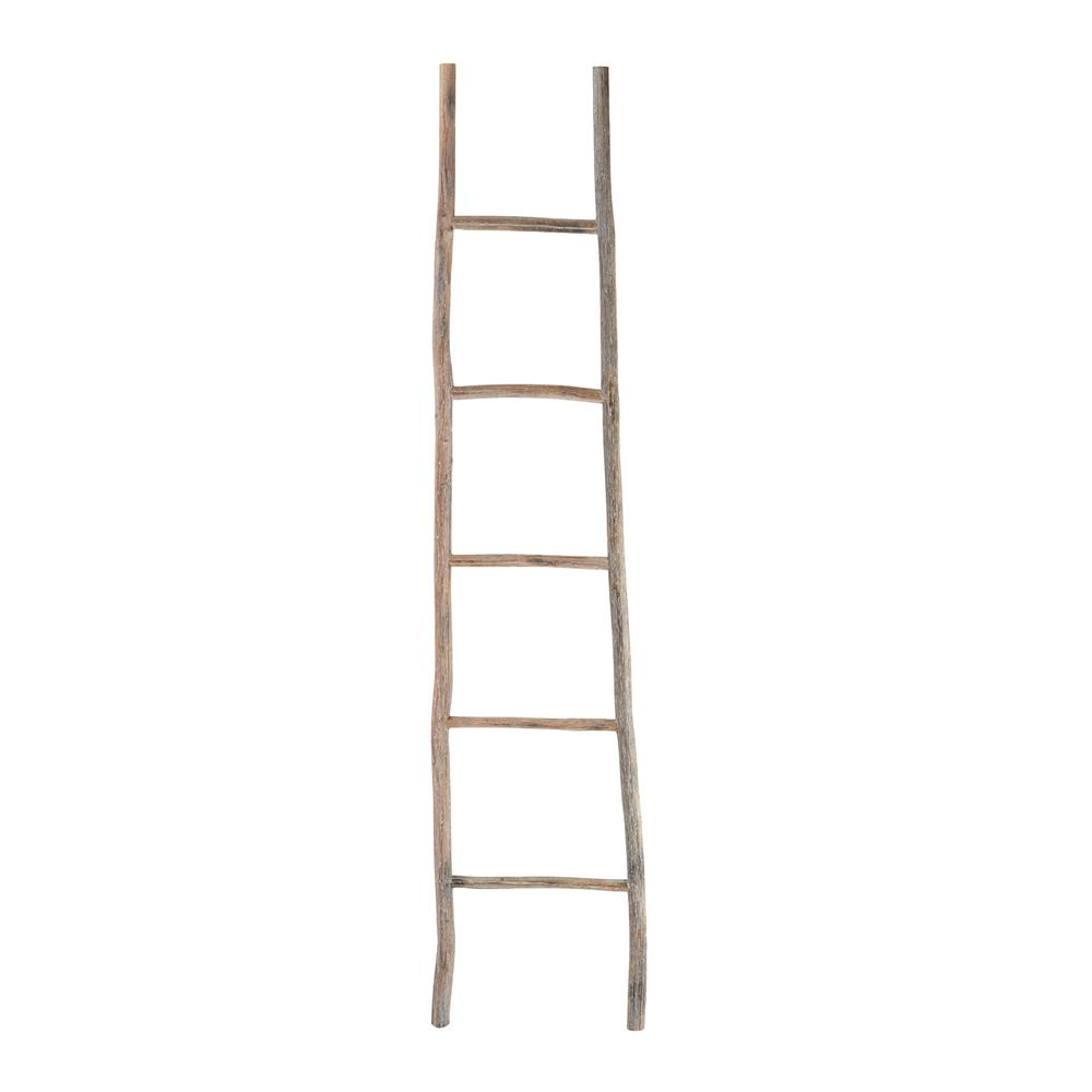 Dimond Home by Elk 594039 Wood White Washed Ladder - Lg in Light Wood