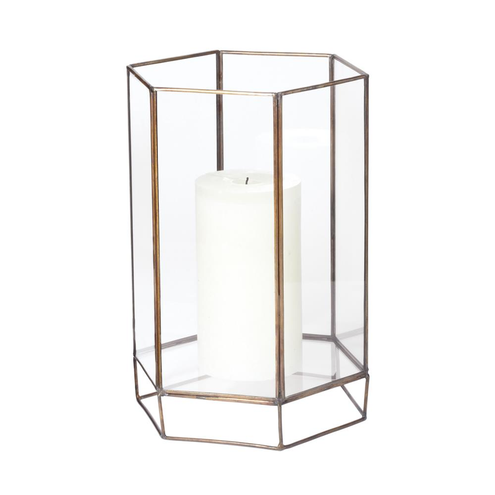 Dimond Home by Elk 784052 Glass Oriel Hurricane - Sm in Clear