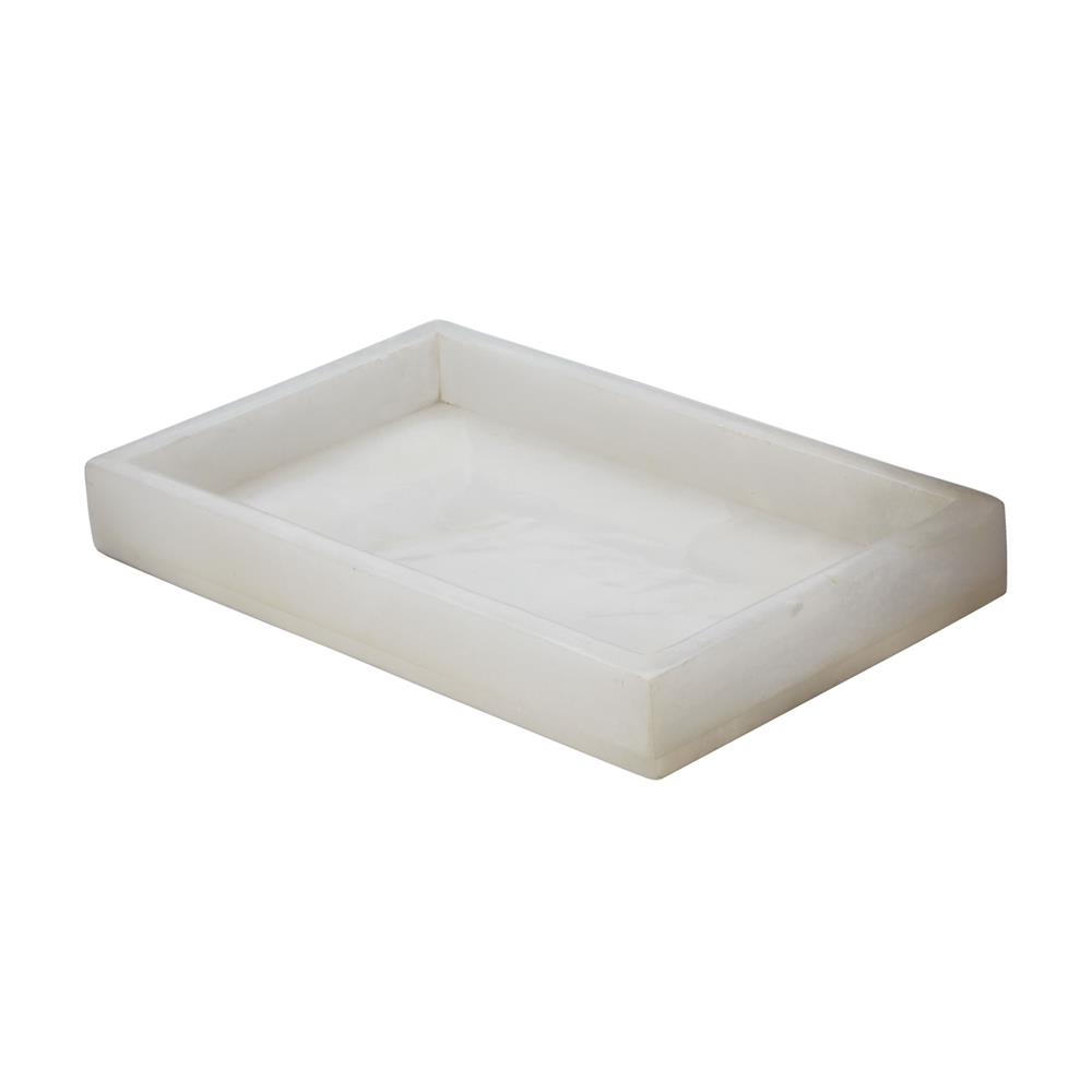 Dimond Home by Elk 786024 White Alabaster Vanity Tray  in White