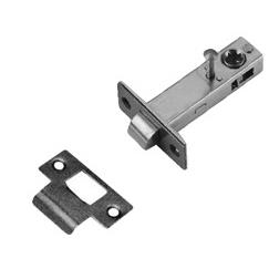 LB Brass LM8553319 Latch in Satin Black