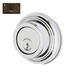 LB Brass NYADDC275C6506 Double Cylinder Auxiliary Deadbolt in Brushed Antique Brass