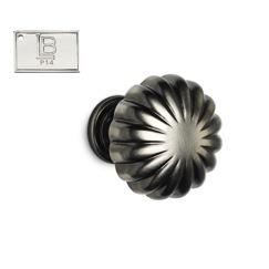LB Brass CAKNR138C5P14 Cabinet Knob Round in PVD Polished Nickel