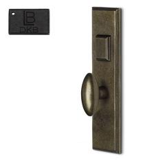 LB Brass COMEELH275K1DKB Mortise Handle Entry in Dark Bronze