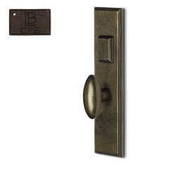 LB Brass COMEELR250K1CPB Mortise Handle Entry in Copper Bronze