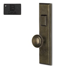 LB Brass COMEELR250K3DKB Mortise Handle Entry in Dark Bronze