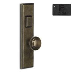 LB Brass COMEERR250K3DKB Mortise Handle Entry in Dark Bronze