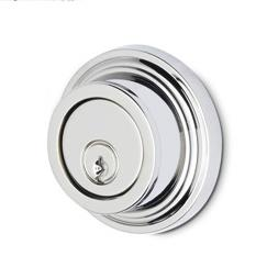 LB Brass NYADSC238C6506 Single Cylinder Auxiliary Deadbolt