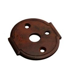 LB Brass LR6010380 Escutcheon Plate in Rust