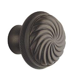LB Brass 1232355 Cabinet knobs in Old Silver