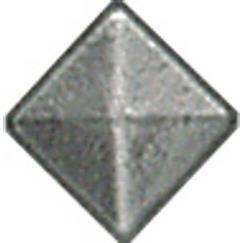 LB Brass LX3701380 Cabochon in Rust