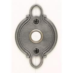 LB Brass LD4815351 Door Bell in Satin Steel