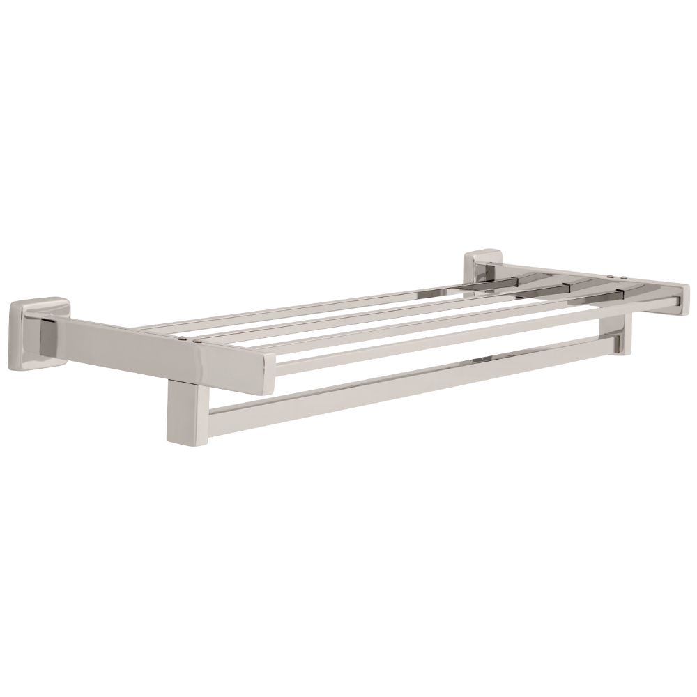 "Liberty Hardware 5557 Century 24"" Towel Shelf with Bar, 1 per pkg"