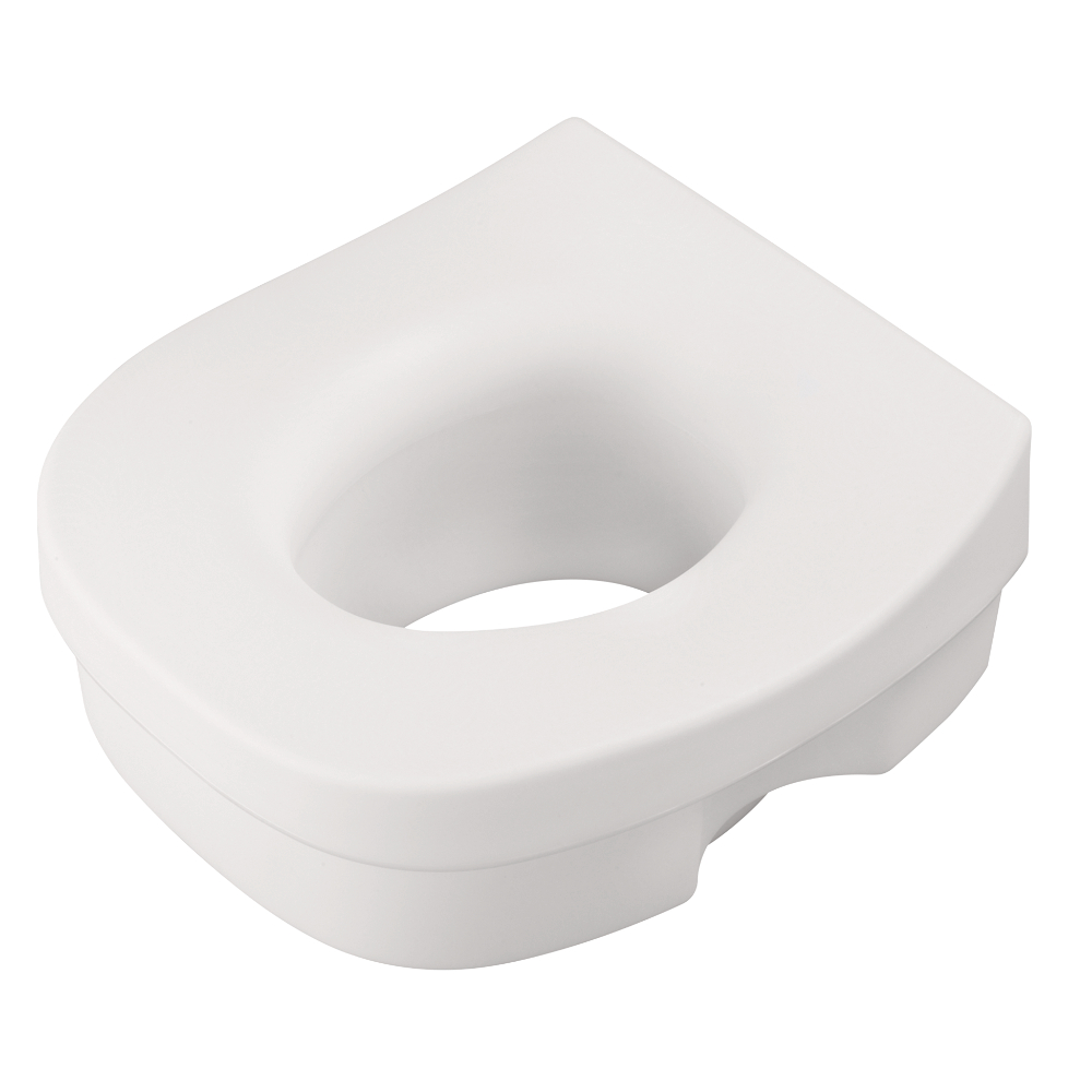 Liberty Hardware DF570 Elevated Toilet Seat, 1 per pkg