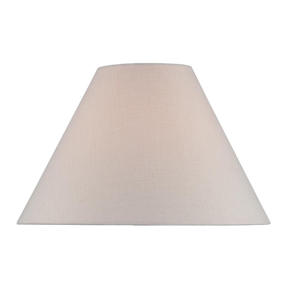 "Lite Source CH1256-18 Empire Fabric Shade - 7""tx18""bx12""sl"
