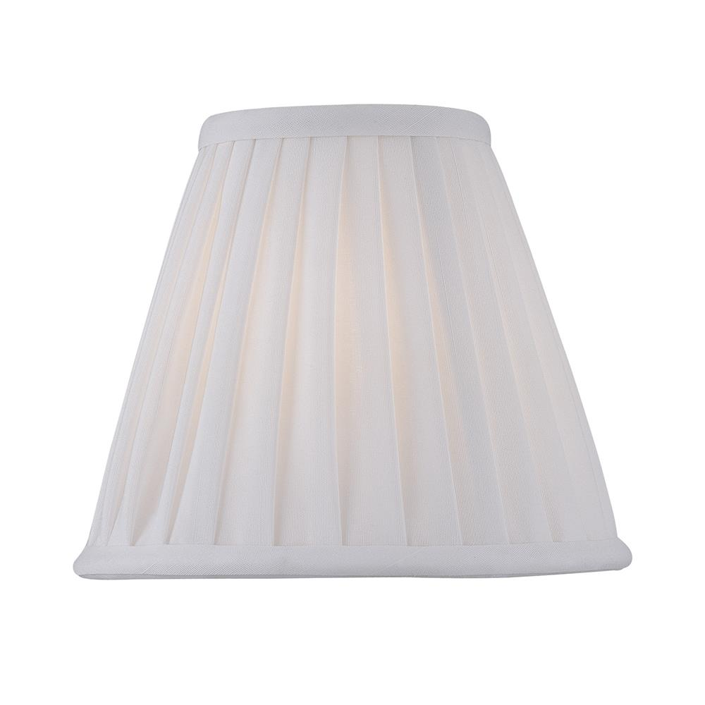 Lite Source CH5177-6 Chandelier Shade in Empire Pleat