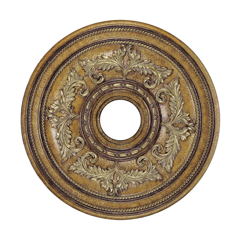 Livex Lighting 8200-57 Ceiling Medallion Ceiling Medallion in Venetian Patina