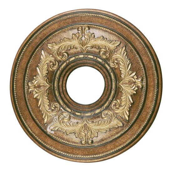 Livex Lighting 8205-57 Ceiling Medallion Ceiling Medallion in Venetian Patina