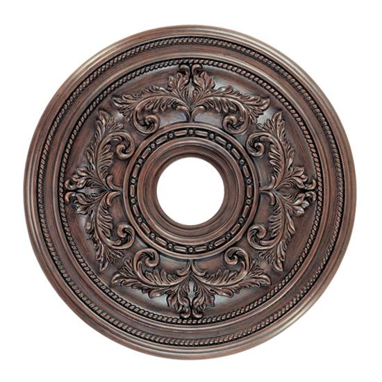Livex Lighting 8205-58 Ceiling Medallion Ceiling Medallion in Imperial Bronze