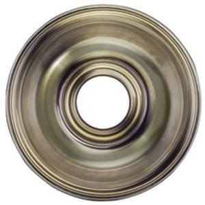 Livex Lighting 8217-91 Ceiling Medallion Ceiling Medallion in Brushed Nickel
