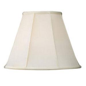 Livex Lighting S505 Silk Lamp Shade Off White Shantung Silk Empire Shade