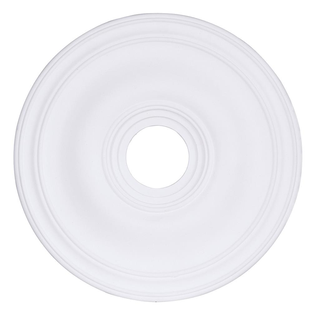 Livex Lighting 8219 20 Inch Ceiling Medallion in White