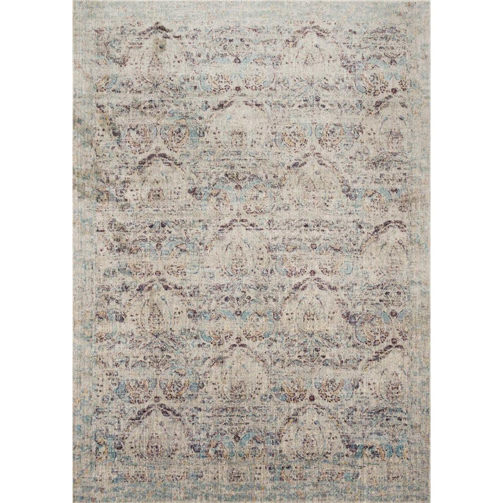 Loloi Rugs AF-05 Anastasia Silver/Plum Transitional Area Rug in 2