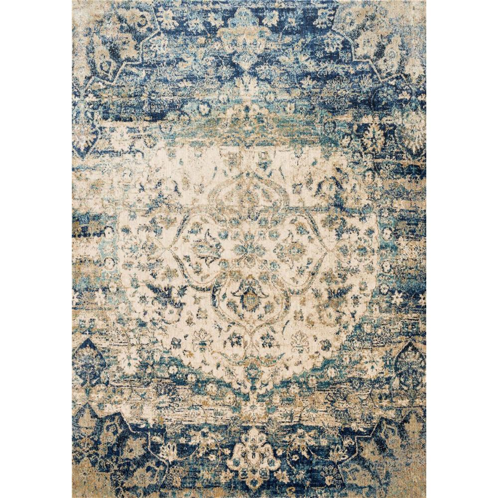 Loloi Rugs AF-06 Anastasia Blue/Ivory Transitional Area Rug in 2