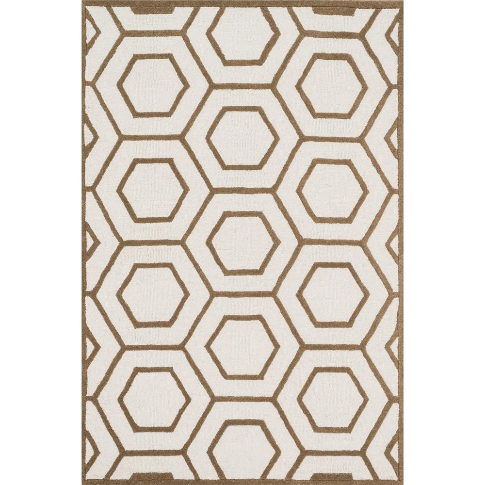 Loloi Rugs CF-07 Celine Ivory/Taupe Transitional Area Rug in 2
