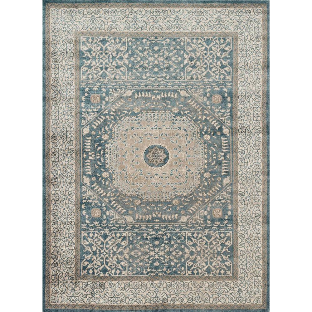 Loloi Rugs CQ-01 Century Blue/Sand Transitional Area Rug in 2