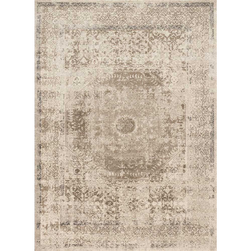 Loloi Rugs CQ-01 Century Taupe/Sand Transitional Area Rug in 2