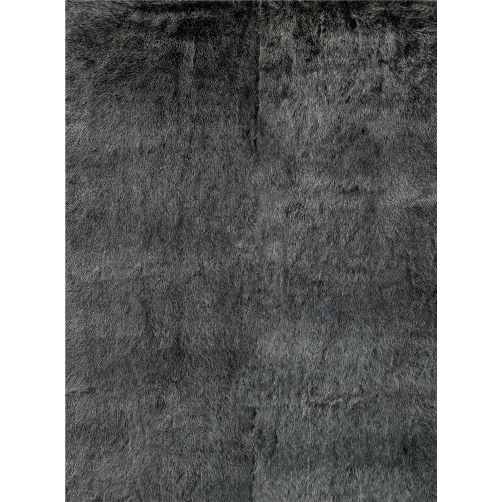 Loloi Rugs FN-01 Finley Black/Charcoal Shags Area Rug in 2