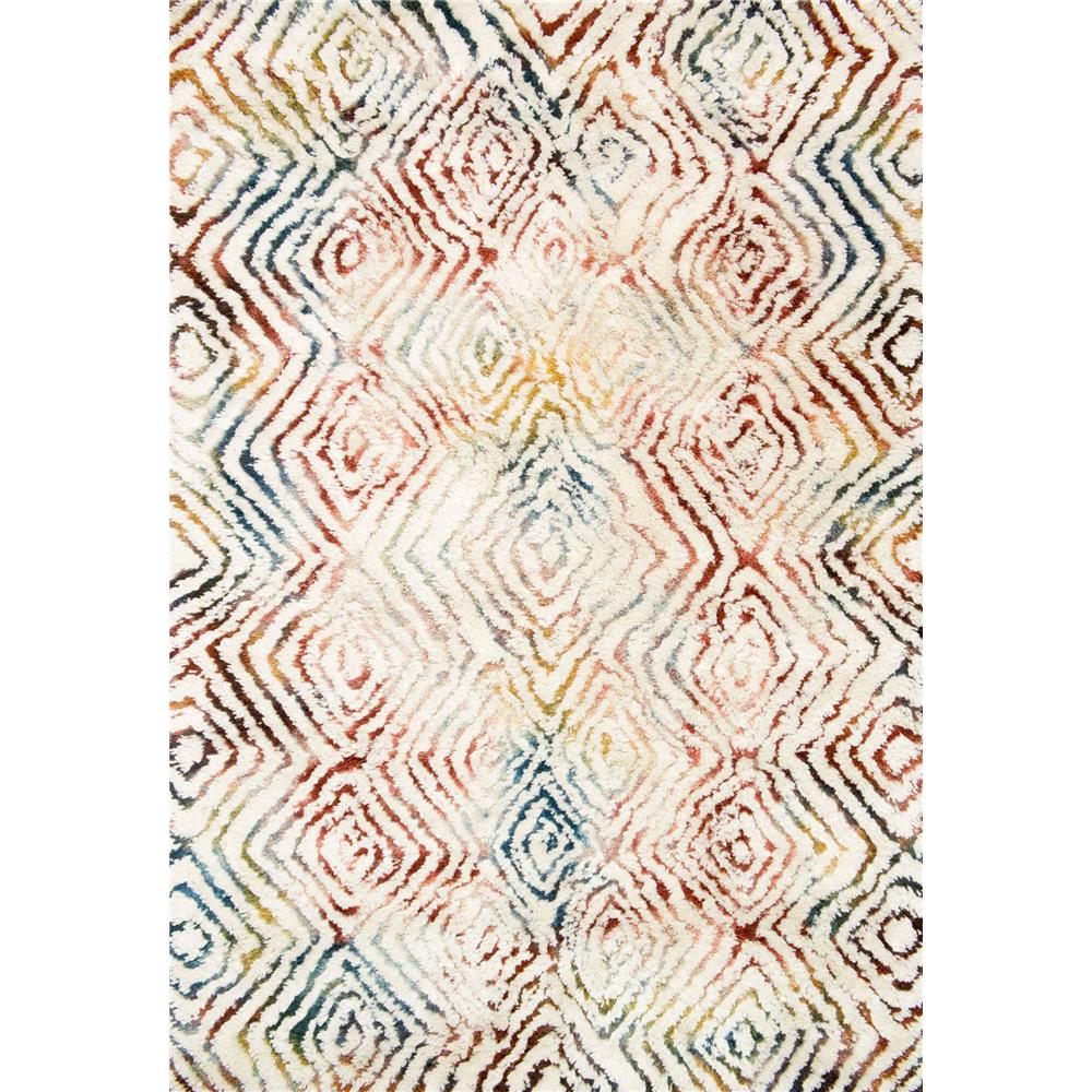 Loloi Rugs FW-03 Folklore Ivory/Prism Contemporary Area Rug in 3