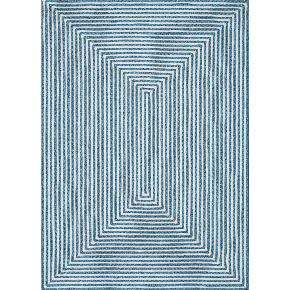 Loloi Rugs IO-01 In/Out Aqua Indoor/Outdoor Area Rug in 2