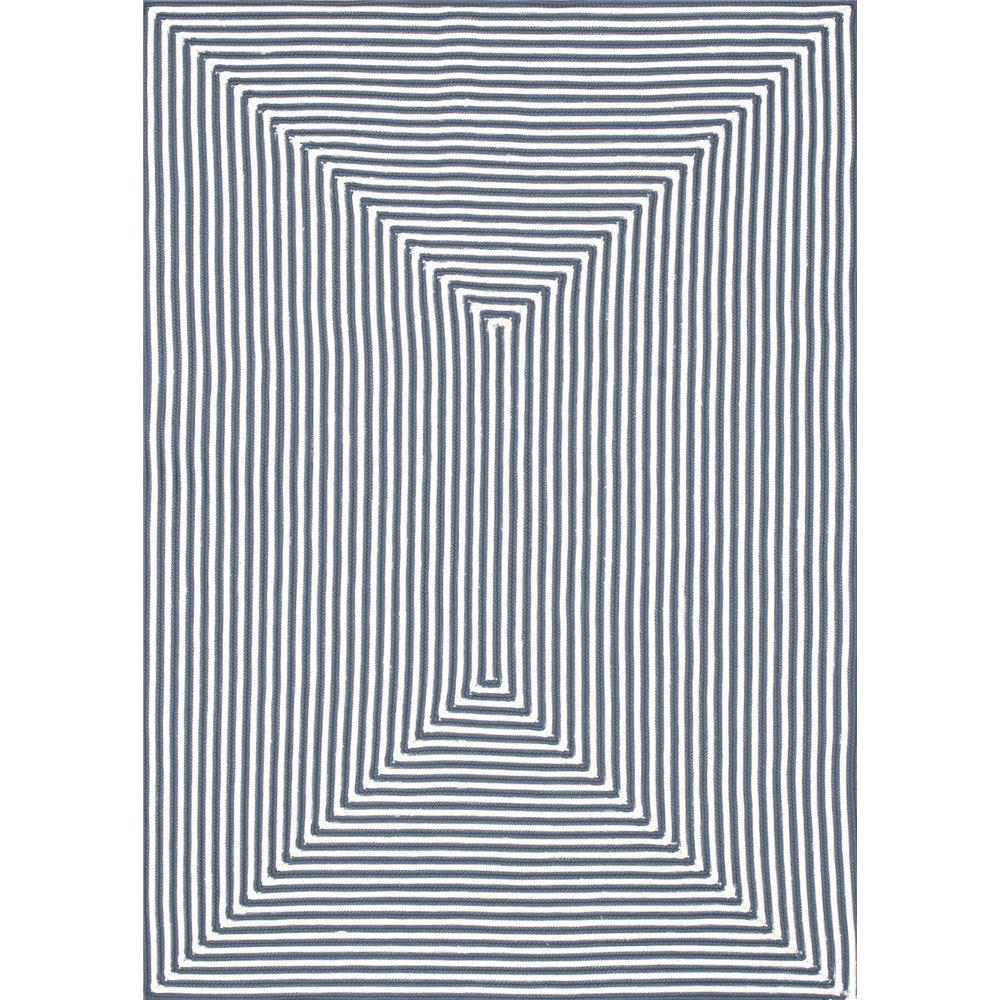 Loloi Rugs IO-01 In/Out Blue Indoor/Outdoor Area Rug in 2