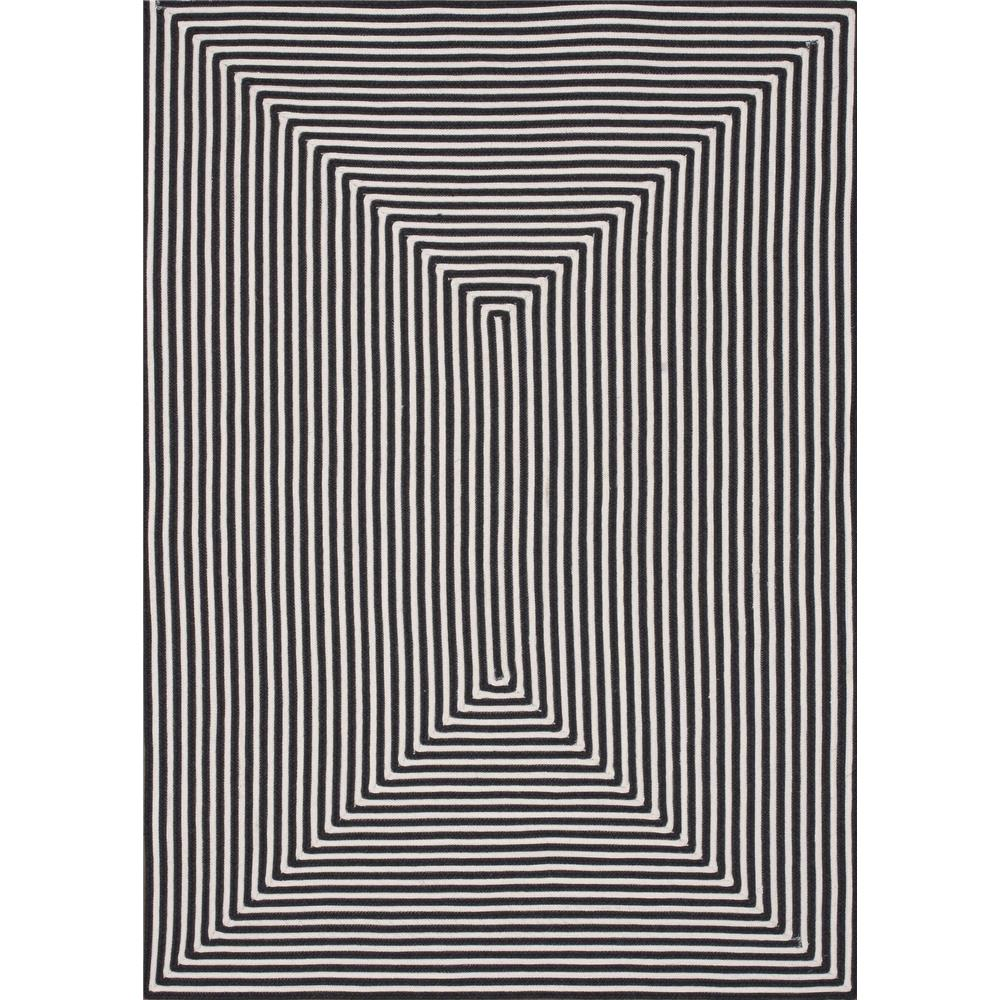Loloi Rugs IO-01 In/Out Black Indoor/Outdoor Area Rug in 2