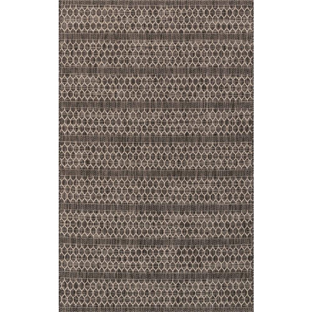 Loloi Rugs IE-01 Isle Black/Grey Indoor/Outdoor Area Rug in 2