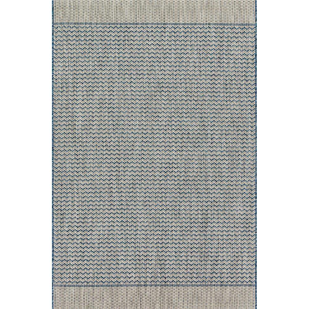 Loloi Rugs IE-03 Isle Grey/Blue Indoor/Outdoor Area Rug in 2