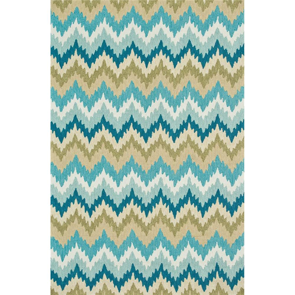 Loloi Rugs SRS01 Summerton Aqua/Green Transitional Area Rug in 2