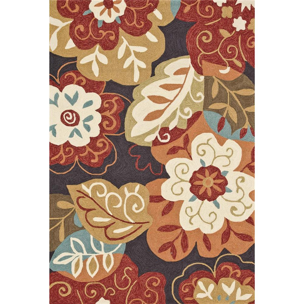 Loloi Rugs SRS03 Summerton Black/Multi Transitional Area Rug in 2