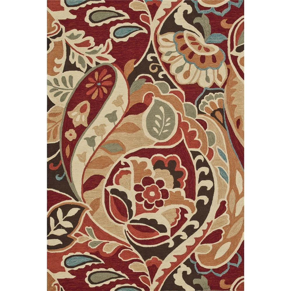 Loloi Rugs SRS09 Summerton Red/Multi Transitional Area Rug in 2