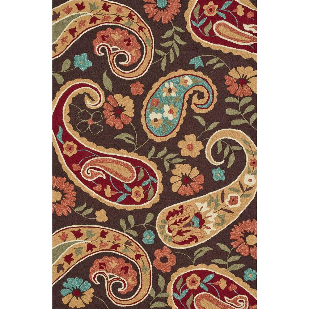 Loloi Rugs SRS12 Summerton Chocolate/Multi Transitional Area Rug in 2