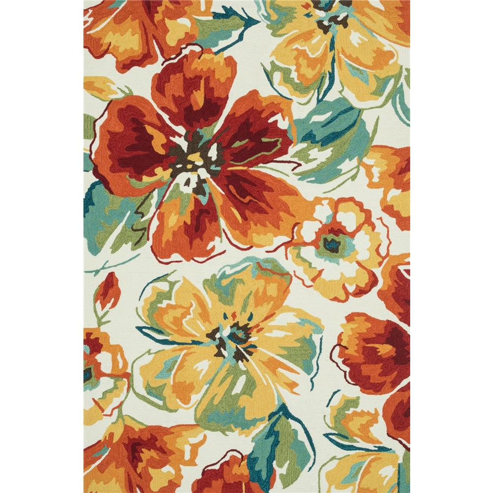 Loloi Rugs SRS18 Summerton Ivory/Floral Transitional Area Rug in 2