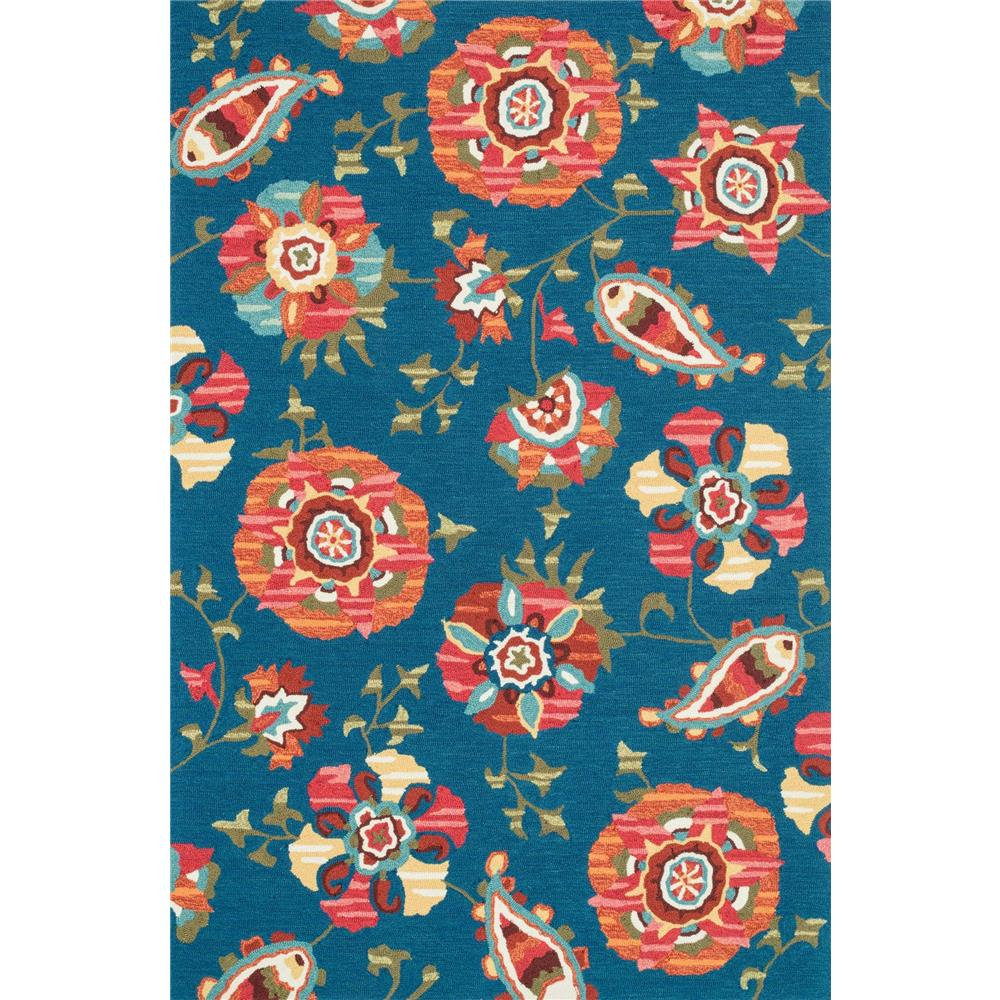 Loloi Rugs SRS21 Summerton Blue/Multi Transitional Area Rug in 2