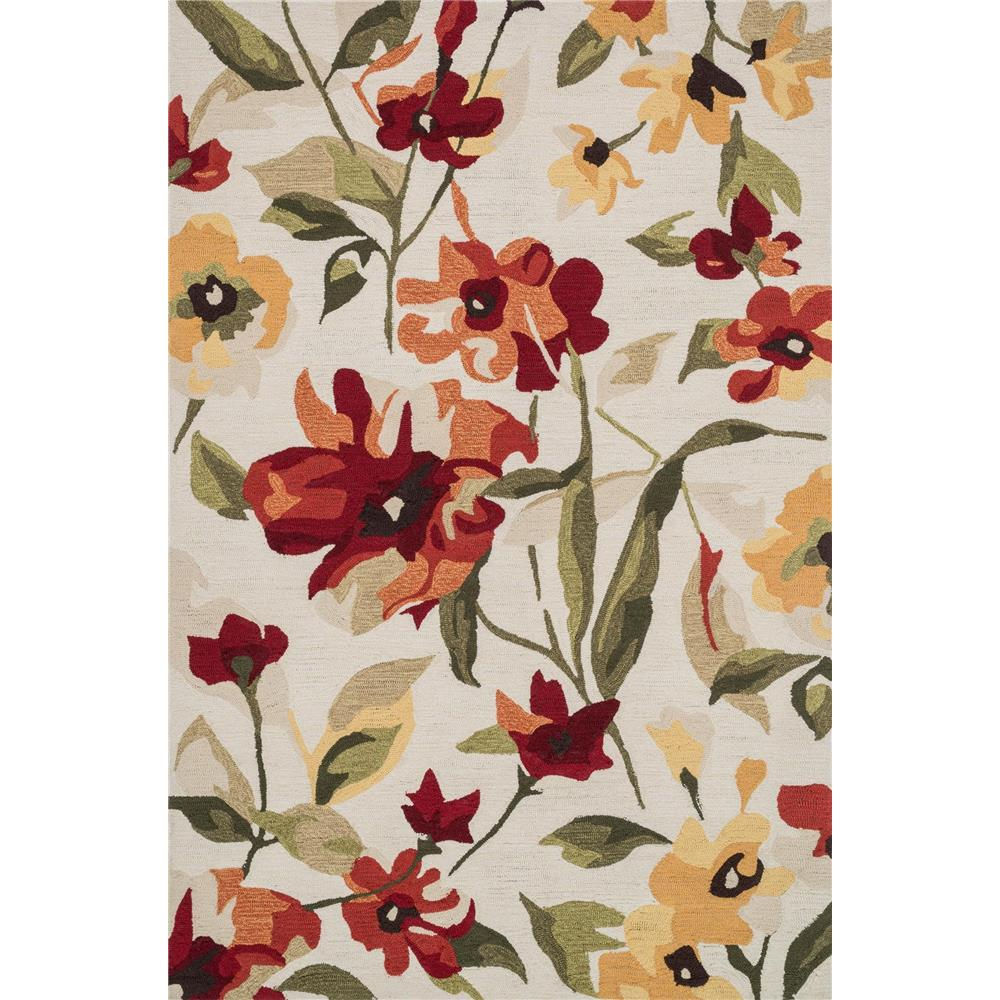 Loloi Rugs SRS23 Summerton Red/Yellow Transitional Area Rug in 2