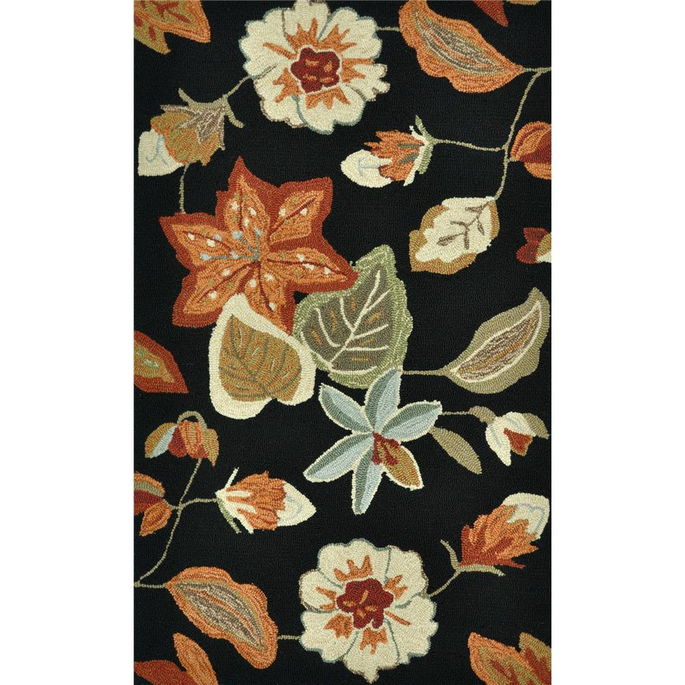 Loloi Rugs SSC19 Summerton Black/Rust Transitional Area Rug in 2