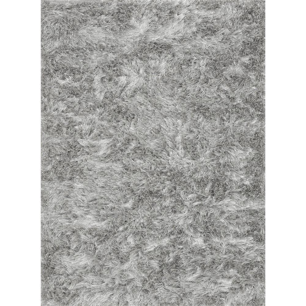 Loloi Rugs VS-01 Vida Shag Silver Shags Area Rug in 3