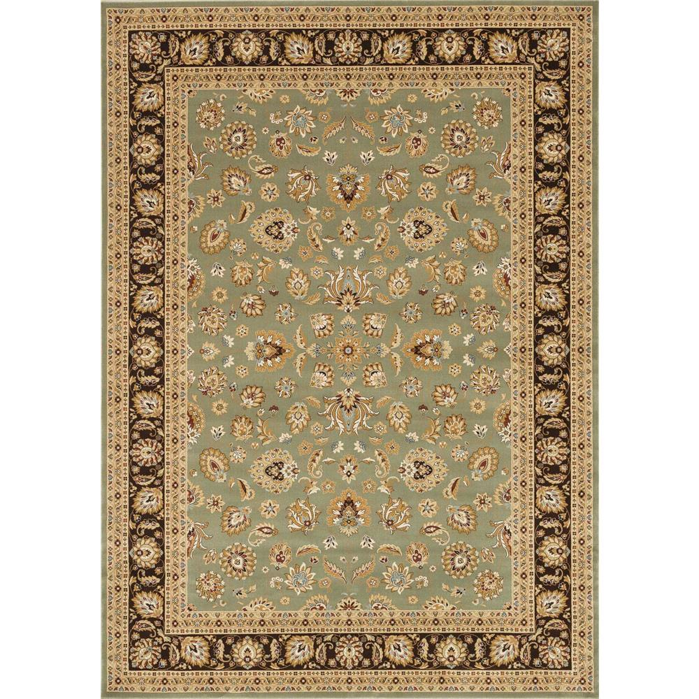 Loloi Rugs WL-04 Welbourne Sage/Coffee Traditional Area Rug in 2